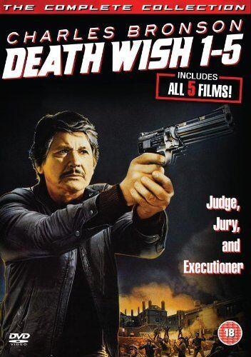 Death Wish 1-5   Box Set   (Brand New)