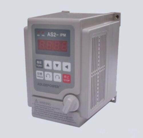 Adleepower Inverter AS2-107 AS2-IPM 1HP 0.75 kW 220 V NEUF