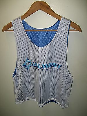 All West Lacrosse Jersey - California USA Sport Camp Mesh Reversible Tank Top M
