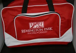 New-zippered-gym-or-carryall-BAG-from-REMINGTON-PARK-racing-Oklahoma