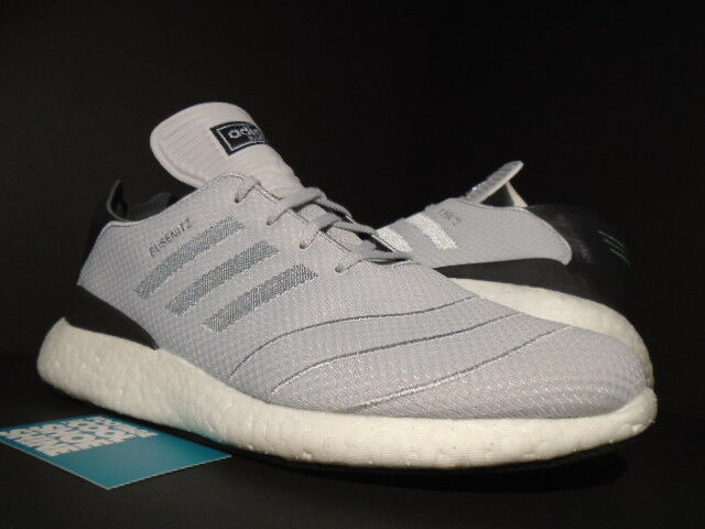 ADIDAS BUSENITZ PURE BOOST COOL GREY CORE BLACK WHITE ULTRA NMD R1 F37762 10.5