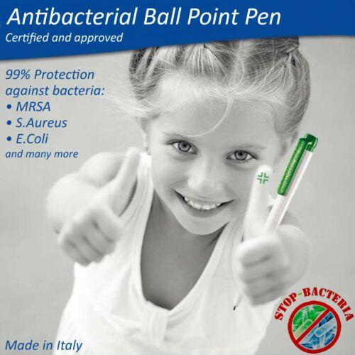 Ballpoint Pen ANTIBACTERIAL 99/% Protection Against Harmful Bacteria Medium Tip