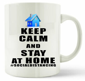 Stay Safe Gift Mug Keep Calm And Stay At Home Gift Coffee Tea Cup