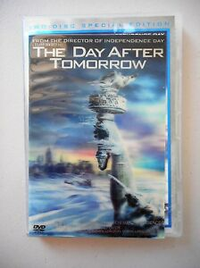 Day-After-Tomorrow-DVD-2-disc-set-Jake-Gyllenhaal-amp-Dennis-Quaid-Action-Sci-Fi