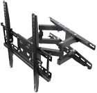 Husky Mounts for Most 32 – 55 Inch Dual Arm Full Motion TV Wall Mount Bracket