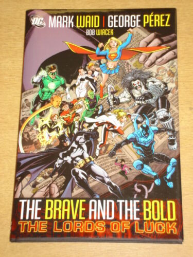 1 of 1 - BRAVE AND THE BOLD LORDS OF LUCK VOL 1 DC MARK WAID HARDBACK NEW 9781401215033