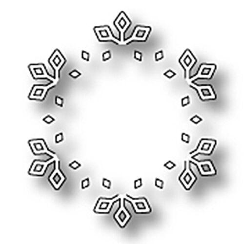 """MEMORY BOX 98647 /""""Snowflake Cutwork/""""  100/% Steel Craft Die Size 1.9 x 2.1 in."""