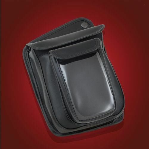 Premium Double Add A Pocket with Clear Top Pouch - Goldwing GL1500  (H15LPC-2BK)