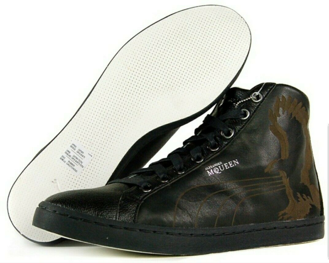 Alexander McQueen Eagle Laser Mid taille 11 nouveau in Box