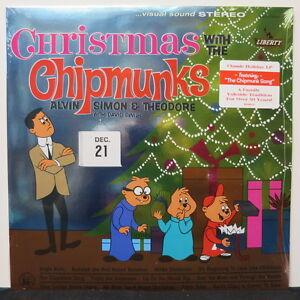 CHIPMUNKS-039-Christmas-With-The-Chipmunks-039-Vinyl-LP-NEW-amp-SEALED