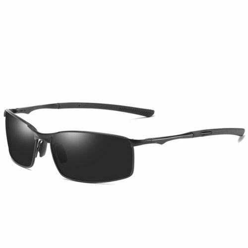 Aluminium HD Polarized Photochromic Sunglasses Men Chameleon Driving Glasses New