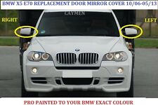 BMW X5 E70 X6 E71- E72  Wing Mirror Cover LEFT PAINTED ANY BMW COLOUR 2006-2013