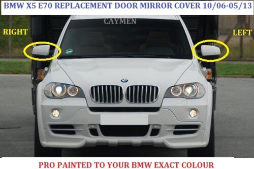 BMW X5 X6 Wing Mirror Cover L//H Or R//h Painted Any BMW Colour 2006-13