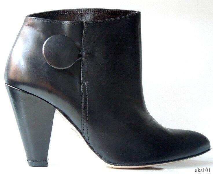 con il prezzo economico per ottenere la migliore marca New  425 TE' TE' TE' CASAN nero leather ANKLE stivali avvioies 38 US 8 - very pretty  la migliore offerta del negozio online