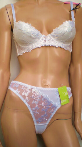 """Daniel Axel Underwired Lightly Lined Beautiful Embroidered bra Set/""""Mix /& Match"""