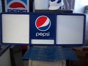 L@@K New 4ft Pepsi-Cola Menu Board w/3 sets of letters & numbers!.