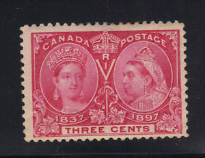 Canada Stamp #53 Queen Victoria Jubilee Unused Mint Hinged Sound