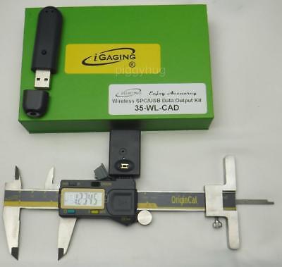"wireless transmitter iGaging absolute digital caliper 12/"" optional depth gauge"