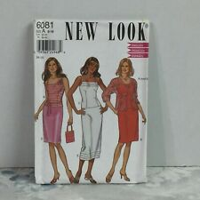 Size-A New Look Sewing Pattern 6081 Misses Sportswear