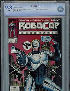 Details about Robocop #1 CBCS 9 8 NM/MT 1990 Marvel Comics Amricons