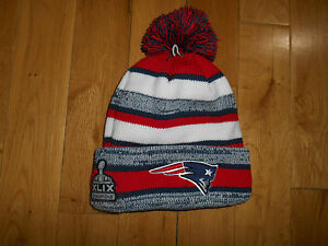 2d7190074d3ed New Era 2014 15 New England Patriots Sport Knit Sideline Hat SB ...