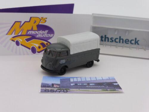 """70 Stück Brekina Sondermodell # VW T1b Pritsche /"""" Rathscheck Schiefer 1 /"""" Limt"""