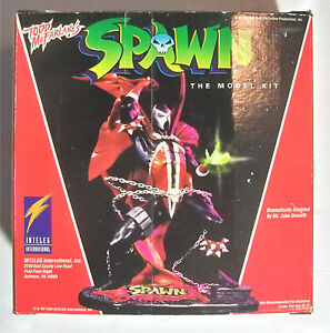 Inteleg International / Vinyl Model Kit / Spawn / Complete in Box