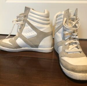 scarpe Sportive Con Rialzo Da Donna
