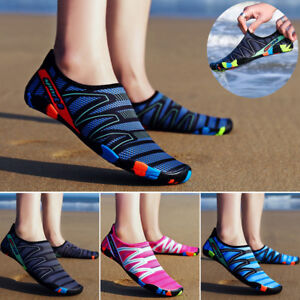 the latest de0a0 5bba9 Image is loading Mens-Womens-Aqua-Water-Shoes-Quick-Dry-Barefoot-