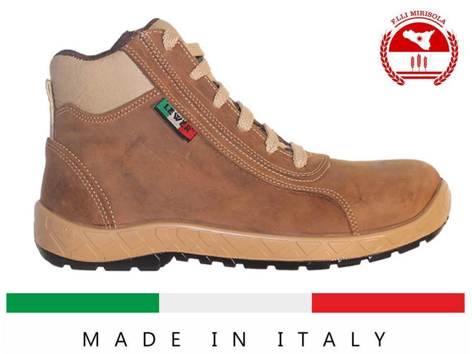 comprare sconti Scarpa da Lavoro Antinfortunistica Antinfortunistica Antinfortunistica LEWER MADE IN ITALY FURORE S3 Idrorepellente  offrendo il 100%