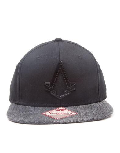 UFFICIALE ASSASSIN/'S CREED SYNDICATE simbolo in metallo Nero Cappellino Nuovo Di Zecca