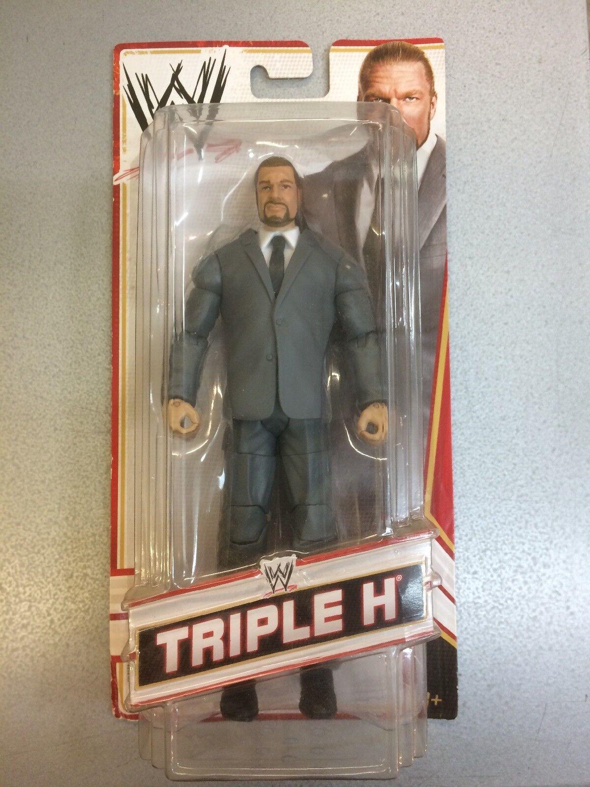 WWE WRESTLING Figura Elite COO TRIPLE H MATTEL. RARA figura.