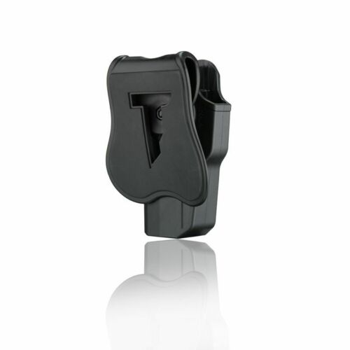 OUTSIDE THE WAISTBAND PADDLE HOLSTER-LEVEL2 PUSH BOTTON-KYDEX-SPRINGFIELD XD45