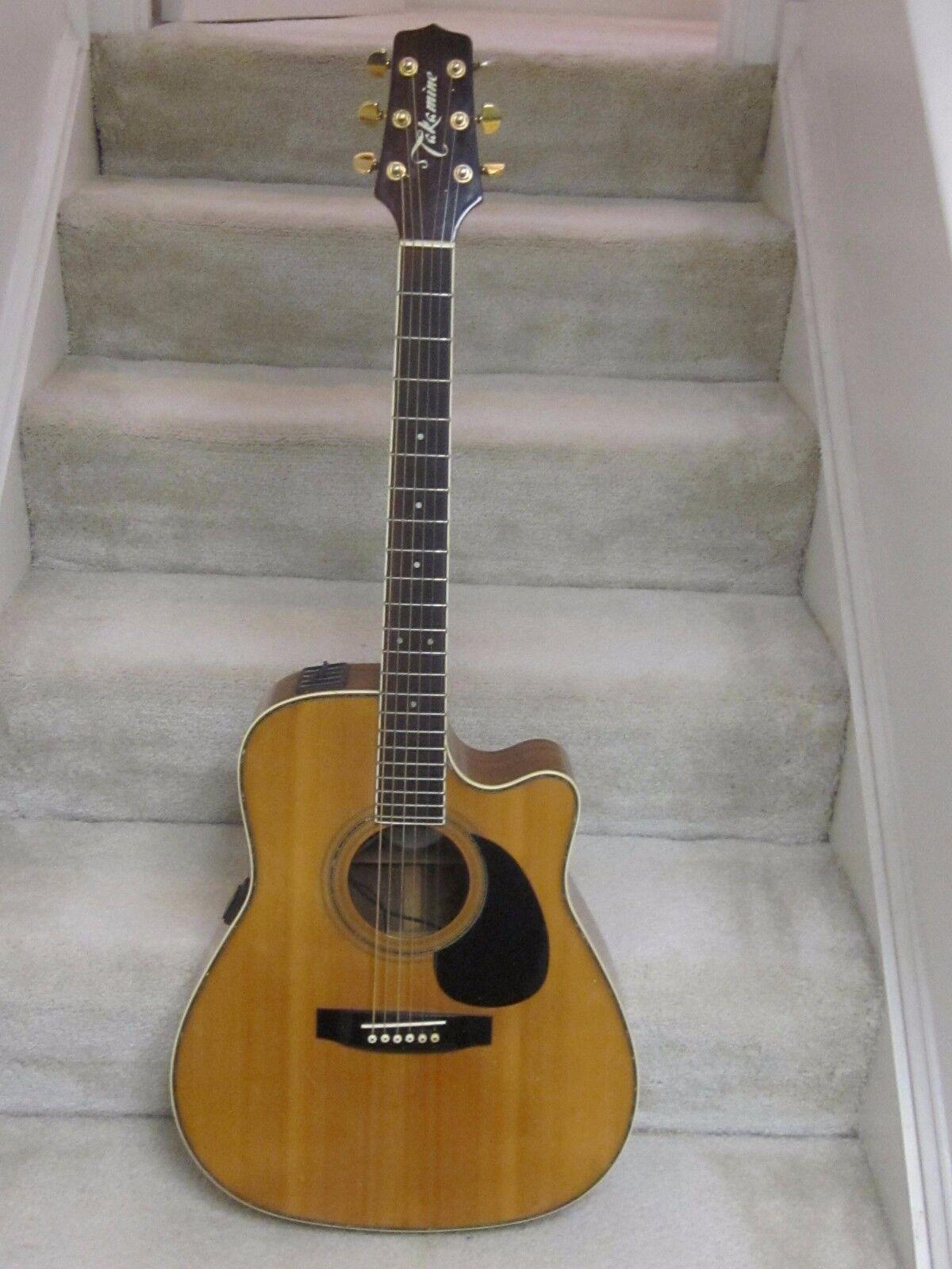takamine eg 334c acoustic electric guitar nice cutaway jumbo new used girtars for sale. Black Bedroom Furniture Sets. Home Design Ideas