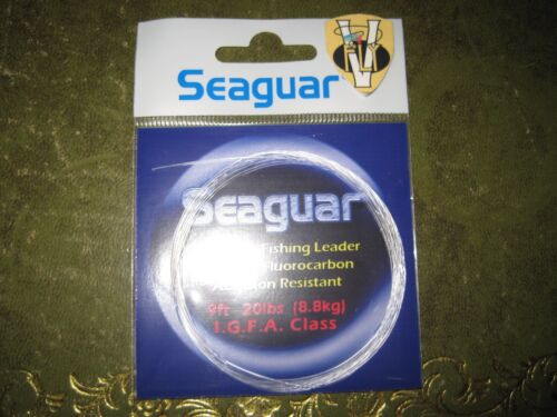 fluorocarbone 9 pieds coniques leaders 8 à 20Lbs Seaguar saltwater I.G.F.A