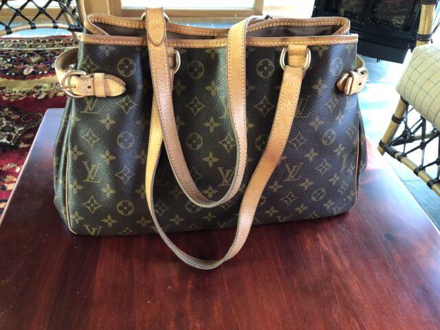 Louis Vuitton Batignolles Horizontal Monogram Tote Shoulder Handbag