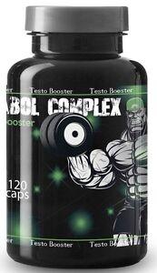 Testosteron-Booster-120-Kapseln-Muskelaufbau-Extrem-Anabole-Schnelle-Wirkung