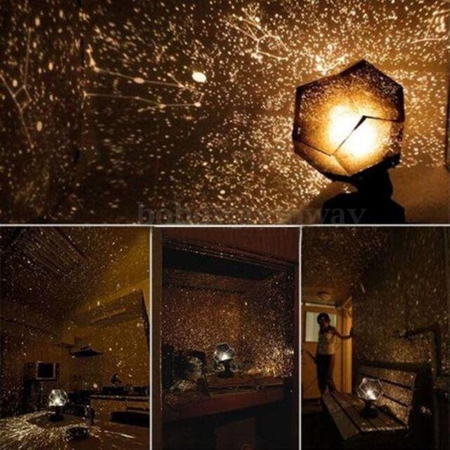 DIY Grow in the Dark Astrostar Astro Star Laser Projector Cosmos Light Lamp NEW