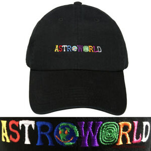 8c0b520c Image is loading ASTROWORLD-Embroidery-Dad-Hat-Travis-Scott-Wish-You-