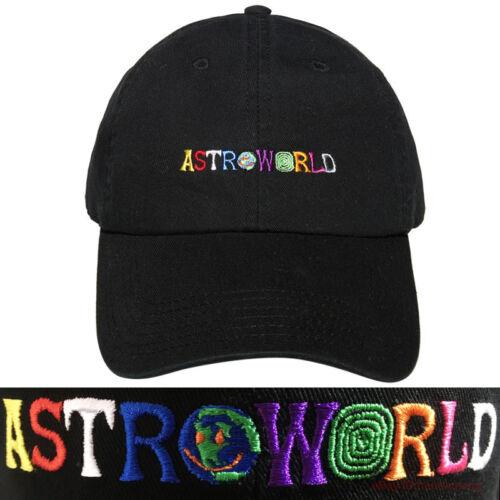 ASTROWORLD Embroidery Dad Hat Travis Scott Wish You Were Here 100/% Cotton Cap