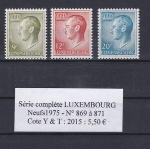 3-timbres-du-LUXEMBOURG-Neufs-de-1975-Serie-complete-tres-bon-etat