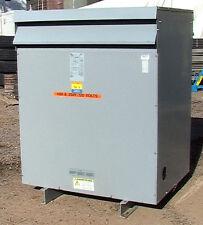 HPS Sentinel 150KVA 480d 208 Y 120V 7 taps transformer cu windings p/n 194836