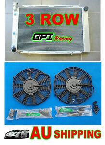 GPI-Aluminum-Radiator-amp-fan-for-Holden-Statesman-WB-V8-1980-1985-81-82-83-84-85