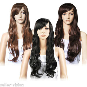 27-034-Top-Quality-Premium-Gorgeous-Ladies-Long-Wavy-Curly-Full-Wig-Fashion-Party