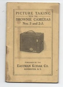 1916 Eastman Kodak Brownie Camera Instructional Booklet