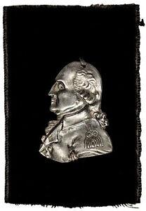 1800-George-Washington-Funeral-Medal-Badge-VICTOR-SINE-CLADE-Baker-164-Near-Mint
