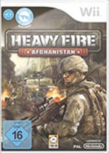 1 von 1 - Nintendo Wii Spiel ***** Heavy Fire Afghanistan *************************NEU*NEW