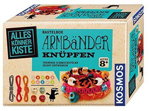 Kosmos Alleskönnerkiste Armbänder Bastelbox Kreativität Spielware Kinderspiel