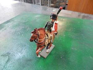 plastic French Hussar Napoleonic Cavalry by Starlux made in France
