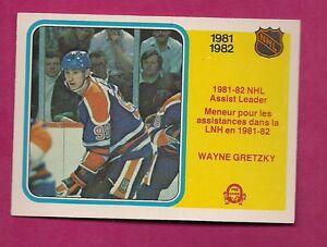 1982-83-OPC-240-OILERS-WAYNE-GRETZKY-ASSIST-LEADER-NRMT-MT-CARD-INV-7003